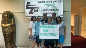 Special Ops escape room winners